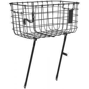 Basil Robin Luggage Carrier Basket, black Paniers pour guidon