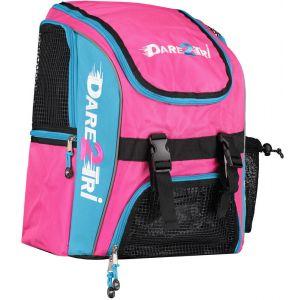 Dare2Tri Transition Sac à dos 23L, pink/blue Sacs à dos triathlon & Sacs de transition