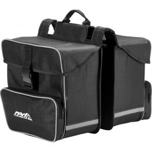 Red Cycling Products Premium Double Bag Sacoche vélo, black Sacs pour porte-bagages
