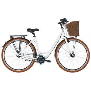 Ortler Monet Wave, white glossy Vélos de ville