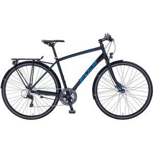 FUJI Absolute City 1.1, satin black/blue Vélos de ville