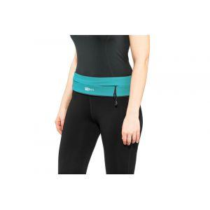 FlipBelt Zipper Ceinture fitness, aqua L Bracelets & Ceintures course à pied