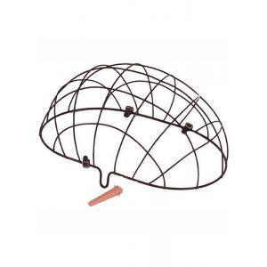 Basil Grille métallique pour panier animal avant Panier pour animal pour roue avant, black Accessoires sacoches & paniers