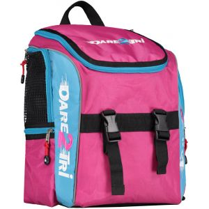 Dare2Tri Transition Sac à dos 13L, pink/blue OSFA Sacs à dos triathlon & Sacs de transition