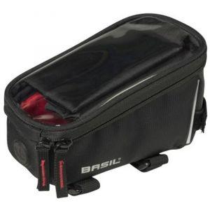 Basil Sport - Sac porte-bagages - 1l noir Sacoches de cadre