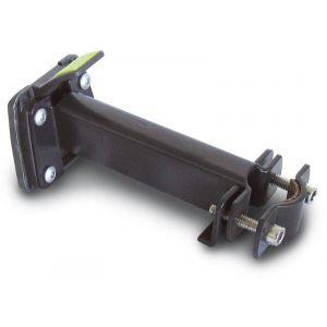 Basil BasEasy Handlebar Pipe Holder Ø22-25,4mm, black Accessoires sacoches & paniers