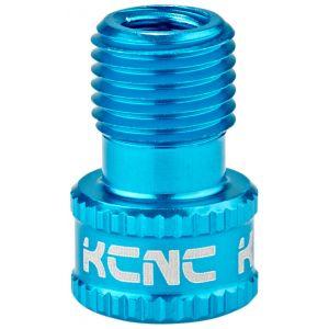KCNC Valve Adaptateur SV/AV, blue Accessoires pompe