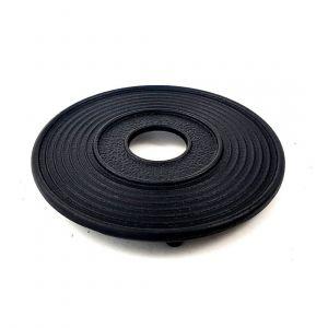 Sous-plat fonte noir 13cm
