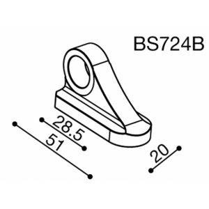 Adaptateur rétroviseur fixation carénage Rizoma BS724B