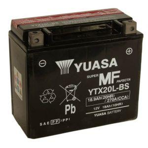 Batterie Yuasa YTX20L-BS / YTX20LBS