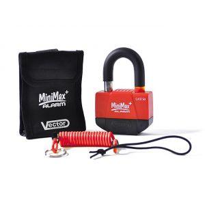 Antivol Vector Minimax Alarm+ 55X40mm - Homologué SRA