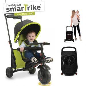 Tricycle évolutif 7 en 1 pliant smarTfold 500 vert smarTrike