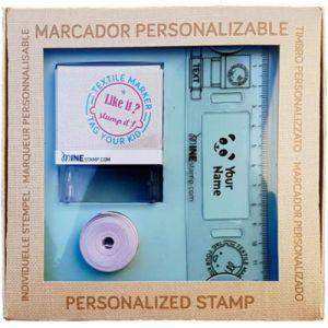 9f3b2c896ce66 Coffret tampon marqueur textile et papier personnalisable MINE MINE