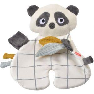 Doudou étiquettes Panda Kikadu