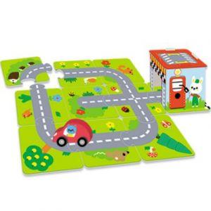 Puzzle géant Mon premier grand circuit Nathan