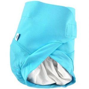 Culotte couche lavable TE2 bleu Poséidon (4-8 kg) Hamac Paris