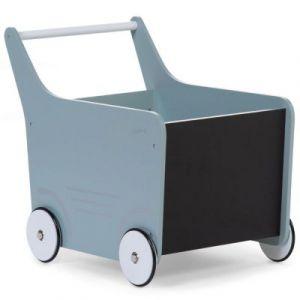Chariot de marche en bois mint blue Childhome