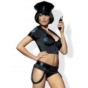 Costume de Policière Noir