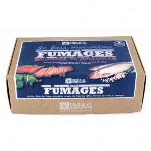 Coffret Fumage maison viandes et poissons, Radis et capucine
