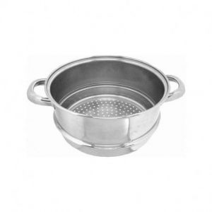 Cuit vapeur inox 1 panier, Artame - Taille - 24 cm