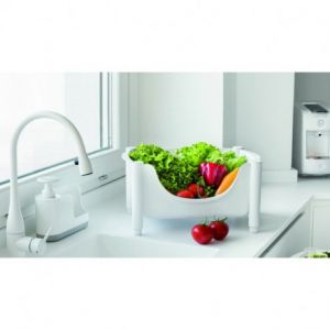 Chariot Hold & Roll, Guzzini - Couleur - Blanc