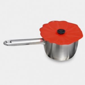 Couvercle en silicone Coquelicot, Charles Viancin