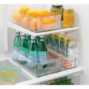 Bac de rangement pour réfrigérateur, Interdesign - Taille - 20,3 x 36,8 x 10,2 cm