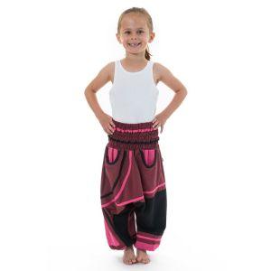 Fantazia - Pantalon sarouel enfant - Sarouel élastique fille Padmanita