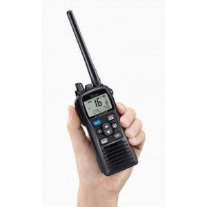 ICOM IC-M73 EURO PLUS VHF Portable Marine 6W Noir