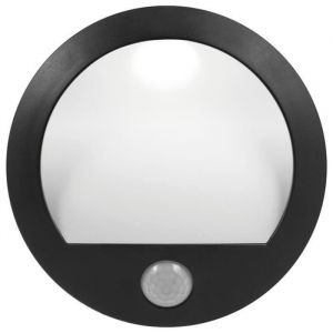 SYLVANIA - luminaire détecteur à piles rond exterieur pour porte 45LM