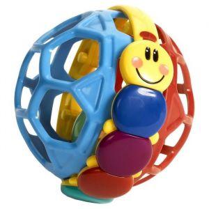 BABY EINSTEIN Balle hochet chenille Bendy Ball™ - Multi Coloris