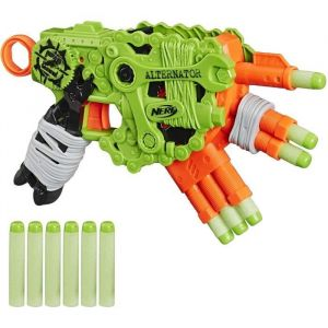 Nerf Zombie Alternator et Flechettes Nerf Zombie Officielles
