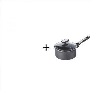 PYREX - ORIGIN + induction - Casserole avec couvercle 20 cm +  ORIGIN + induction - Casserole avec couvercle 16 cm