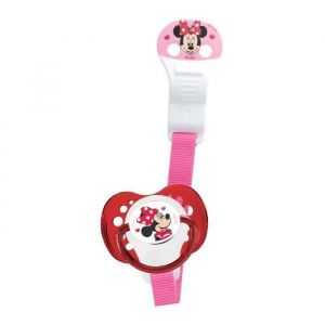 DODIE Attache-Sucette Ruban - Disney Baby Minnie (Lot de 2)