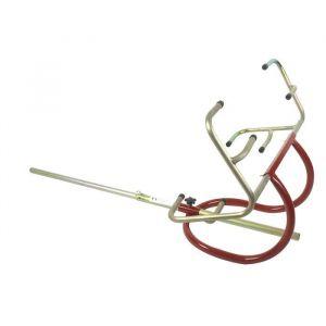 JARDIN PRATIC Lève-autoportée sous roues - Capacité : 130 Kg - Levage frontal - Écartement des griffes de roues réglable - Capacité de levage: 130Kg