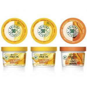 [LOT DE 2] GARNIER Masque Nourrissant Hair Food Banane Fructis - 390 ml