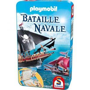 SCHMIDT SPIELE Jeu de poche Playmobil Bataille navale