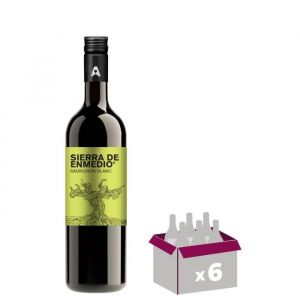 BODEGA ALCENO Sierra de Enmedio Sauvignon - Vin Blanc - 6x 75 cl - BODEGA ALCENO Sierra de Enmedio - Sauvignon - Vin Blanc - 6x 75 cl