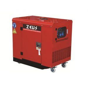 ZEUS Groupe électrogène silencieux 9500w - 11,4 Kva