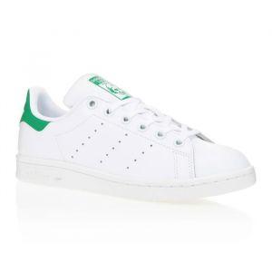 ADIDAS Baskets Stan Smith - Junior - Blanc et vert