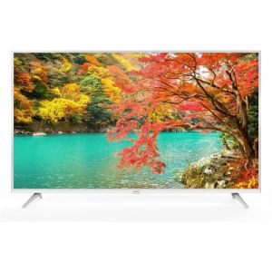 "THOMSON 55UZ6000W TV LED 4K UHD - 55"" (139cm) - Blanc - HDR - Dolby Audio - Android TV - 3 x HDMI - 2 x USB - Classe énergétique A +"