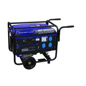 MASTER FLASH Groupe électrogène à essence 5500W avec kit chariot MF5600N