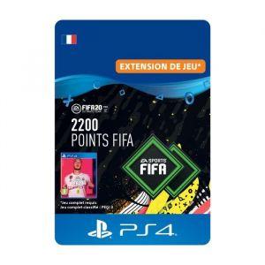 2200 Points FIFA pour FIFA 20 Ultimate Team™ - Code de Téléchargement pour PS4