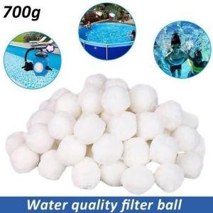700g Balles filtrantes aqualoon pour filtre à sable Purification De L'eau Fiber Boule pour Piscine Spa COS4602