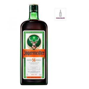 Jagermeister Magnum 175cl - Jagermeister Laugel 35° Magnum - Liqueur à base de plantes médicinales - Allemagne - 1x 175cl