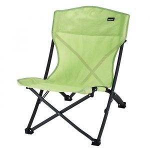 TRIGANO Chaise de plage pliante - Vert kiwi - Chaise de plage pliante - Tissu en textylène - Armature en acier - Coloris : vert kiwi