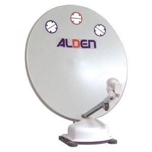 ALDEN Antenne Satellite Automatique Orbiter 85 Démodulateur Satmatic-HD Fransat - Parabole de 85 cm - Livrée avec démodulateur Fransat - Peu sensible au vent - Antenne parabolique compacte