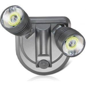 Lampe Murale Détecteur de Mouvement - 2 Spots orientable COB - Applique sans Fil