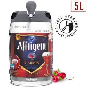 Affligem Cuvée Carmin - Bière d'abbaye aromatisée fruits rouges - Fût 5L compatible Beertender