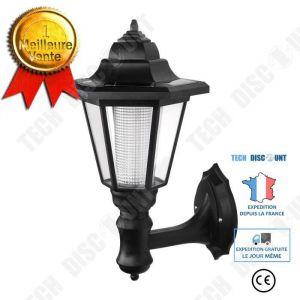 TD® Eclairage de Lampe Solaire de jardin LED Luminaire d'exterieur pour Terrasse, Balcon, Mur - Accessoire d'Eclairage LED externe